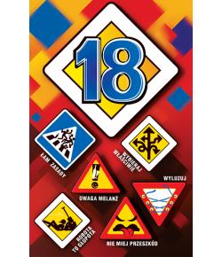 Kartka na 18 urodziny US6