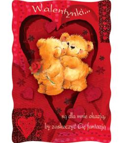 Kartki na Walentynki PVL 6