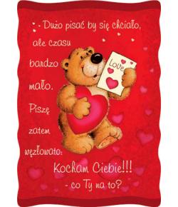 Pocztówki Walentynkowe PVL 11